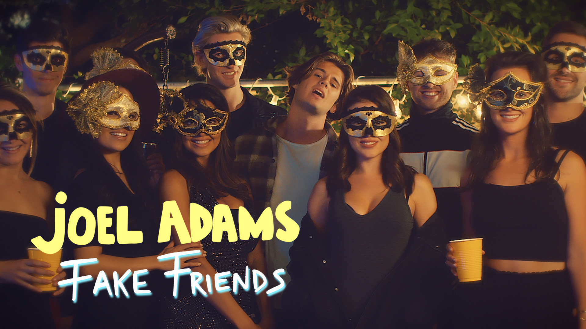 JOEL ADAMS - FAKE FRIENDS
